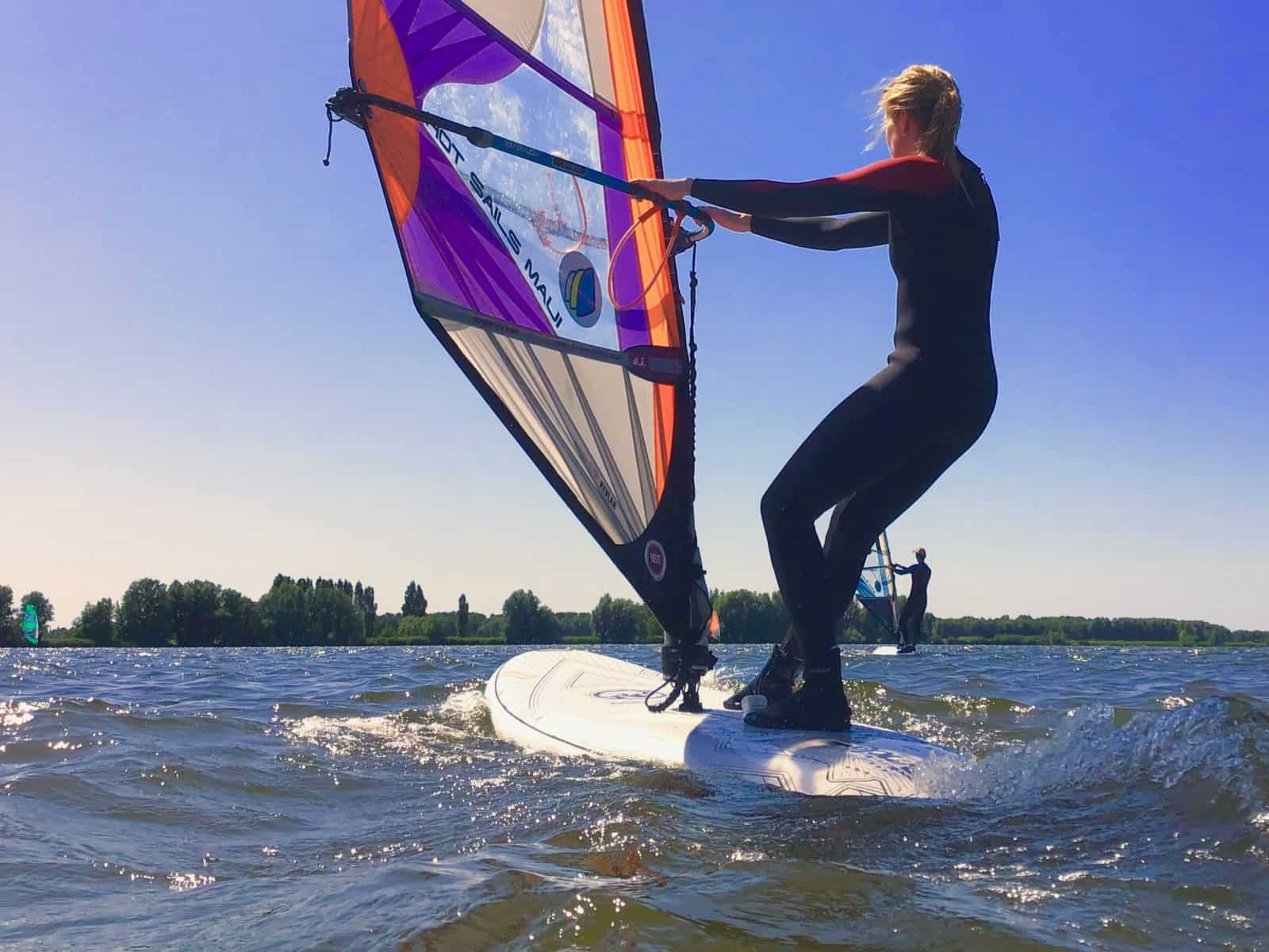 introductieles | Windsurflessen bij windsurfschool Pro-Intro
